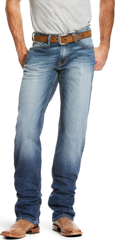 ARIAT Men's M4 Relaxed Fit Bootcut Jean, Lineup Cinder 10024295