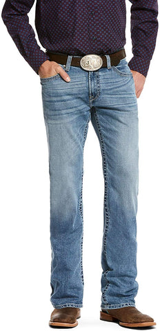 ARIAT M4 Low Rise Stackable Straight Leg Jeans in Nolan