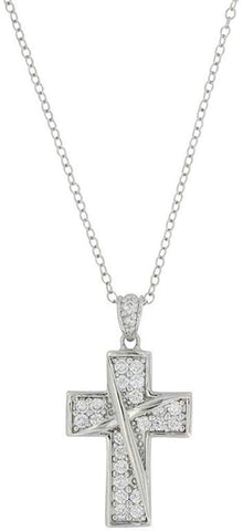 Montana Silversmiths Ribboned Cross Necklace (NC3562)