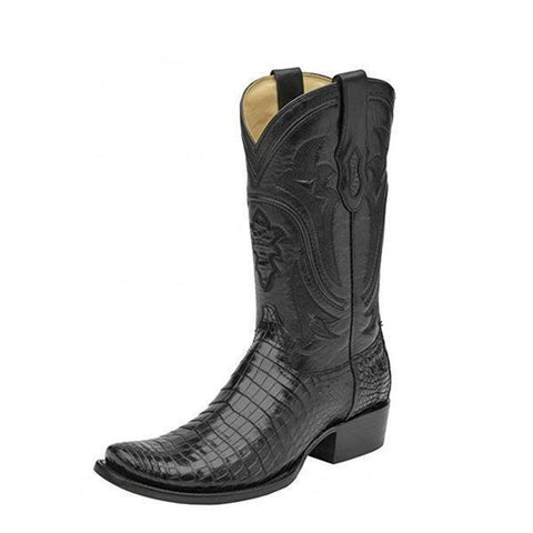 Corral Men's Nile Belly Square Toe Cowboy Boots