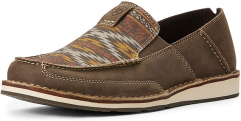 Ariat Men's Cruiser Slip-on Shoe, Terrace/Cortez Aztec