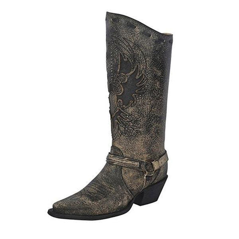 Women's Eagle Harness Boot Snip Toe - R1351