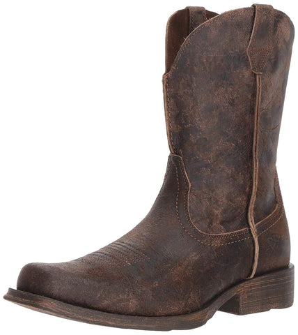 Men's Rambler Western Boot, Antiqued Grey 10025171