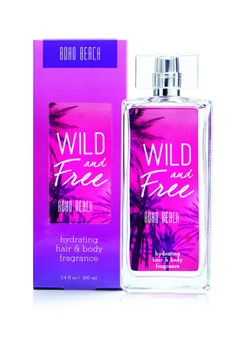 Tru Fragrance Women's Wild and Free Boho Beach Perfume Spray - 92018