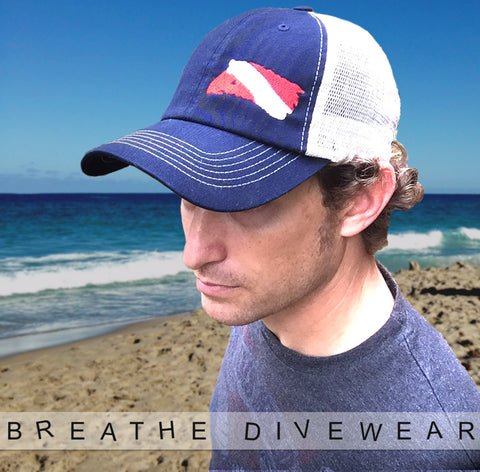 Dive Flag Relaxed Fit Trucker