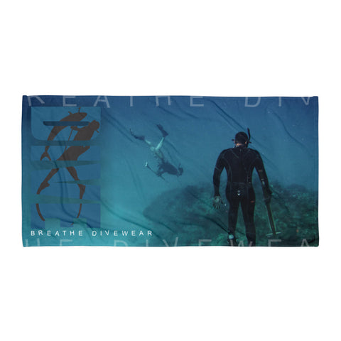 Breathe Divewear® Beach Blanket - Freediver
