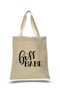 Exclusive Boss Babe Graphic Tote