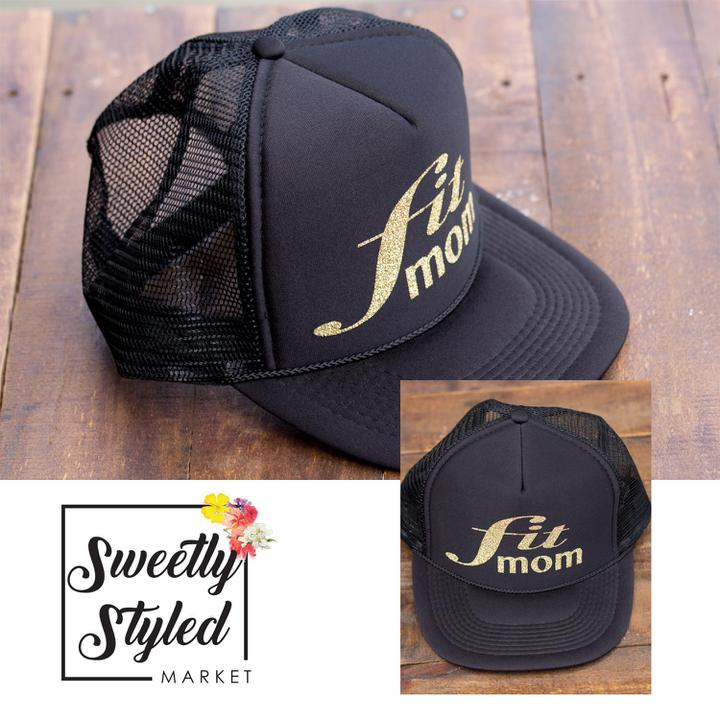 Fit Mom Trucker Hat - Sweetly Styled Market