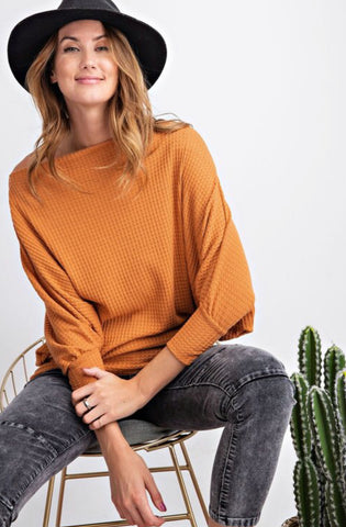 Effortless Long Sleeve Thermal Butterscotch
