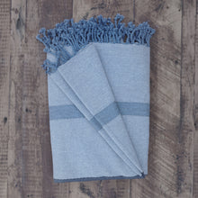Load image into Gallery viewer, Tunisian Fouta Throw