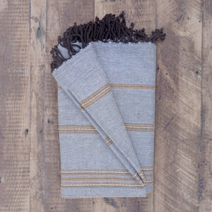 Tunisian Fouta Throw