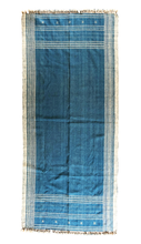 Load image into Gallery viewer, Moroccan Throw in Indigo