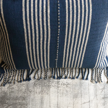 Load image into Gallery viewer, Stripe Tassel Pillow