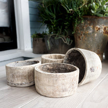 Load image into Gallery viewer, Vintage Wood Bowls