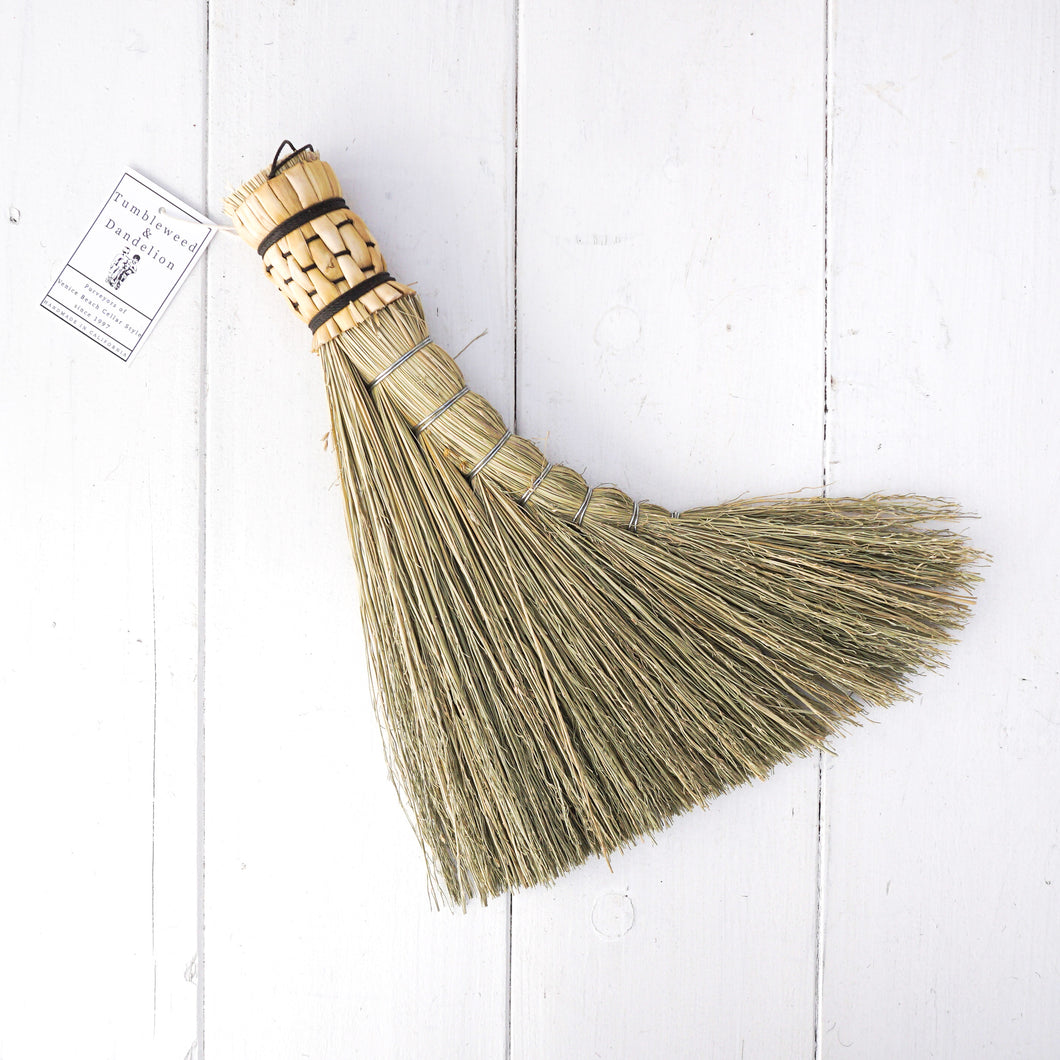 Turkey Wing Broom - Natural