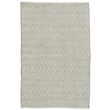 Crystal Grey/Ivory Indoor/Outdoor Rug