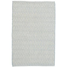 Crystal Swedish Blue/Ivory Indoor/Outdoor Rug