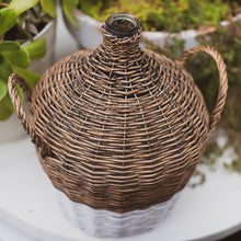 Load image into Gallery viewer, Wicker Demijohn Bottle