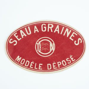 vintage french label