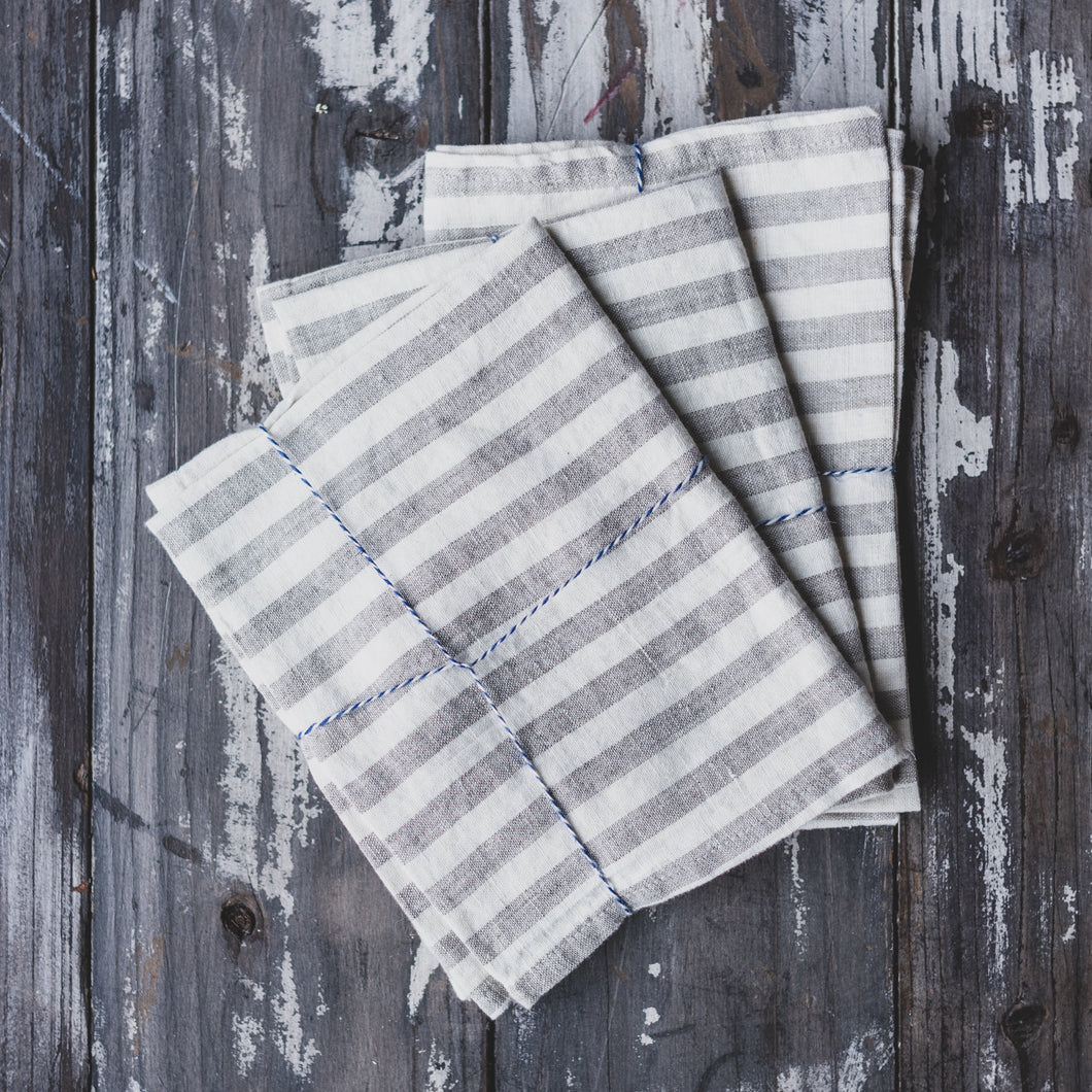 Large Stripe Tea Towel