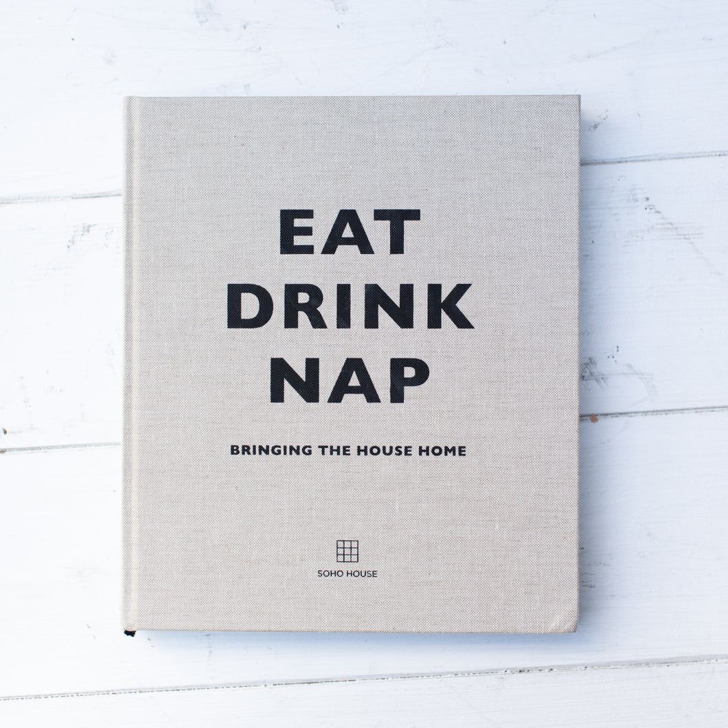 Eat Drink Nap Coffee Table Book