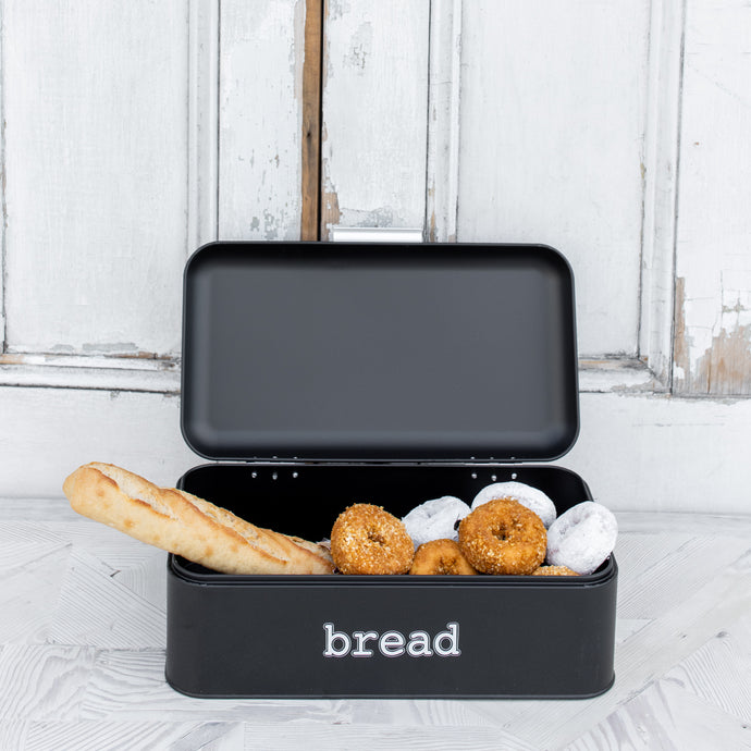Noir Bread Box