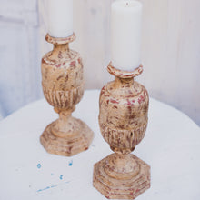 Load image into Gallery viewer, Large Pillar Candle Holders