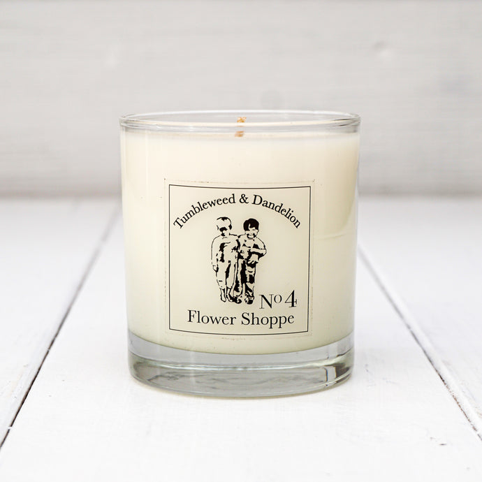 Flower Shoppe Scented T&D Candle