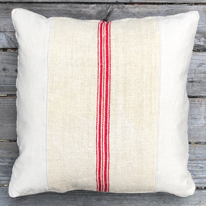 Valencia Feed Sack Pillow