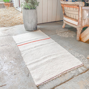 Hemp Kilim Rug Surf Stripe