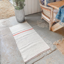 Load image into Gallery viewer, Hemp Kilim Rug Surf Stripe