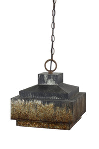 Industrial Pyramid Pendant Lamp