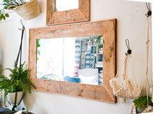 Load image into Gallery viewer, Reclaimed Wood Mirror - Large