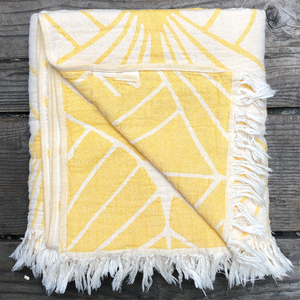 Lemon Leaf Throw