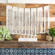 Load image into Gallery viewer, Shavasana Macrame Wall Hang