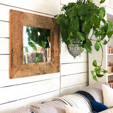 Load image into Gallery viewer, Reclaimed Wood Mirror - Small