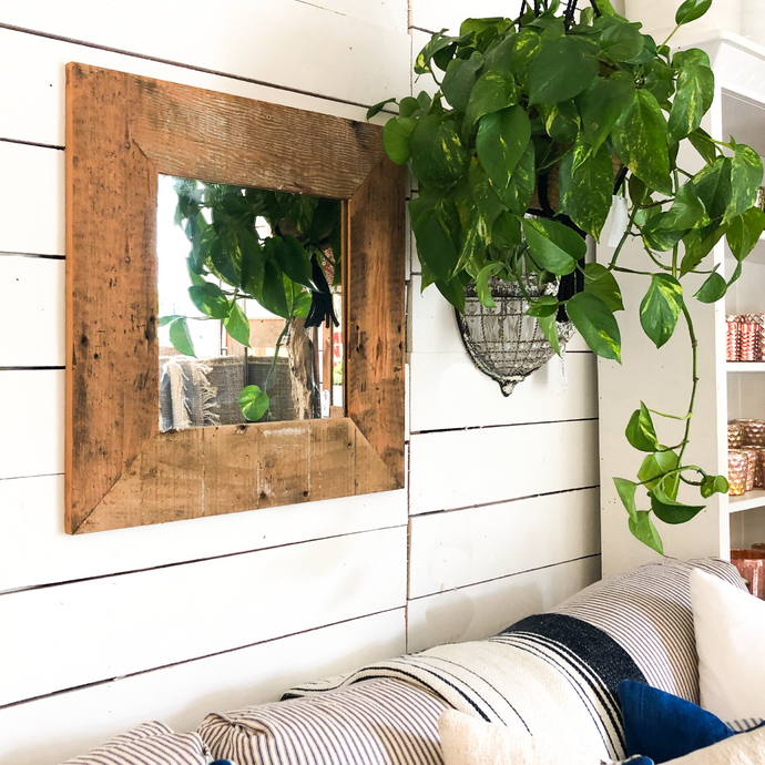Reclaimed Wood Mirror - Small