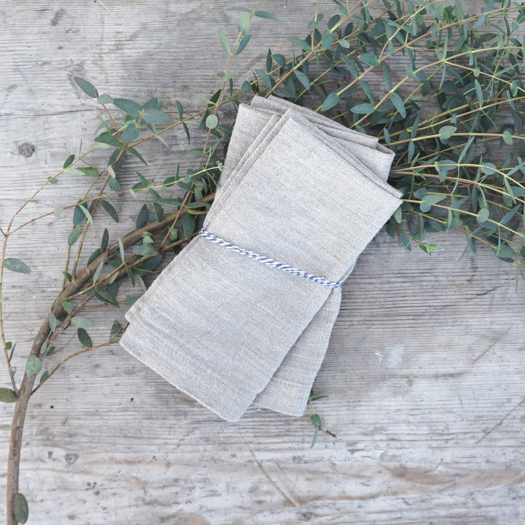 Linen Napkin in Natural
