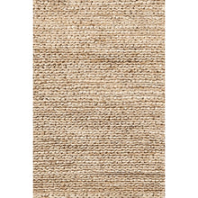 Load image into Gallery viewer, bombax jute natural rug