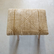 Load image into Gallery viewer, The Goldenrod Ottoman