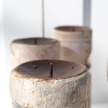 Load image into Gallery viewer, Vintage Pillar Candle Stand