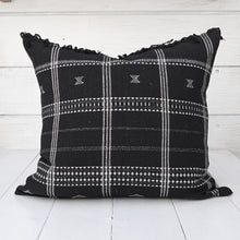 Load image into Gallery viewer, Black Bhujodi Pillow