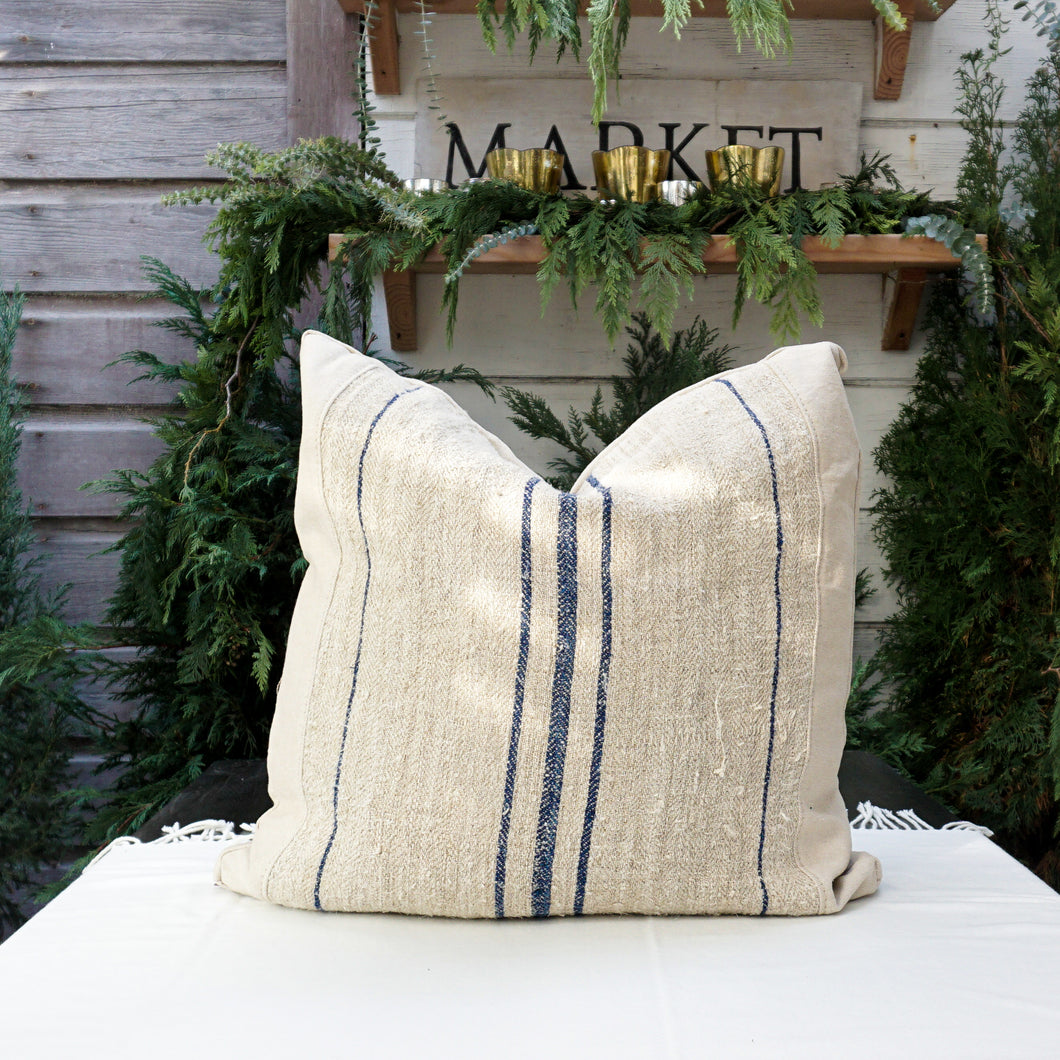 Linnie Feed Sack Pillow