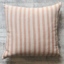 Load image into Gallery viewer, Coral Striped Pillow