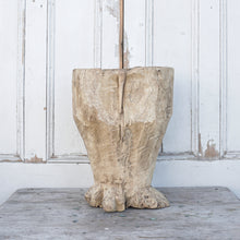 Load image into Gallery viewer, Rustic Tree Stump Planter #1