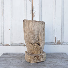 Load image into Gallery viewer, Rustic Tree Stump Planter #4