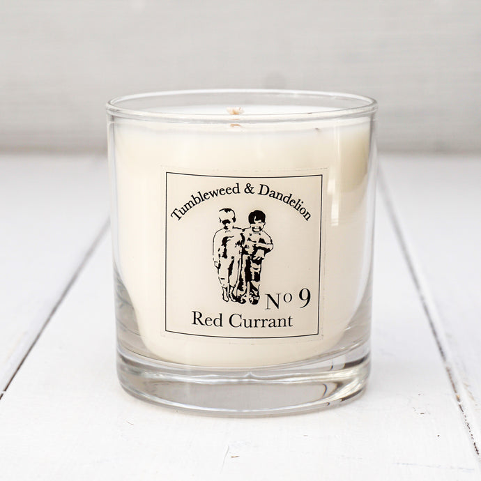 Red Currant Scented T&D Candle