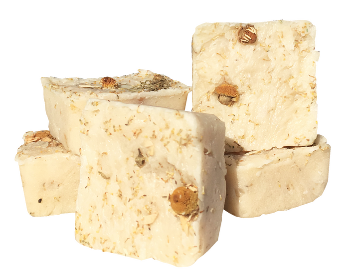 Honey Oat and Chamomile Travel Soaps