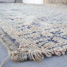 Load image into Gallery viewer, vintage hand knotted wool rug 13 feet by 6 feet 10 inches