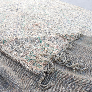 vintage hand knotted wool rug 13 feet by 6 feet 10 inches